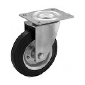 Серия 10 — колеса и ролики на черной резине для тележек