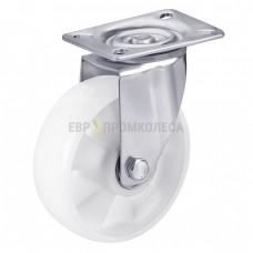 Колесо для тележек из полиамида в поворотном кронштейне с площадкой 3121160 ШК