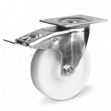 Колесо из полипропилена в поворотном кронштейне с площадкой и тормозом 3231150 СЕ