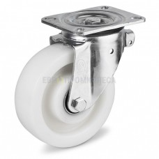 Polyamide wheel in swivel duty bracket with pad 3124160 BН