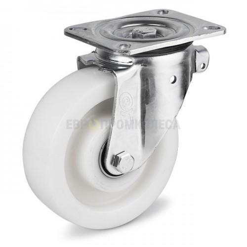 Колесо из полиамида в поворотном усиленном кронштейне с площадкой 3124200 ШЕУ