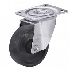 Колесо из спец. волокна в поворотном термостойком кронштейне с площадкой 6927100 СТ-1
