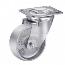Колесо алюминиевое в поворотном термостойком кронштейне с площадкой 7127100 СЕ