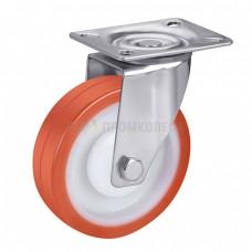 Колесо из полиуретана в поворотном кронштейне с площадкой 4321100 ШЕ