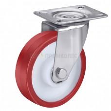 Колесо из полиуретана в поворотном кронштейне с площадкой 4321160 ШЕ