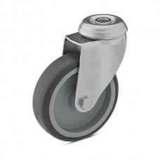 Колесо из полипропилена в поворотном кронштейне с отверстием 6080050 СК