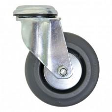 Колесо из полипропилена в поворотном кронштейне с отверстием 6280100 ШК