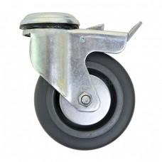 Колесо из полипропилена в поворотном кронштейне с отверстием 6290100 ШК