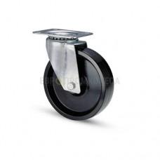 Термостойкое колесо из фенола в поворотном стандартном кронштейне с площадкой 7020080 СЕ-1