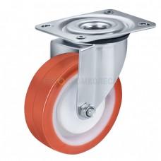 Колесо из полиуретана в поворотном кронштейне с площадкой 4320080 ШЕ