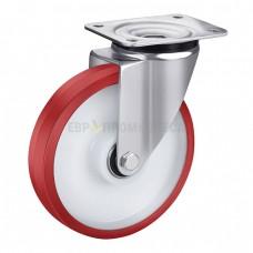 Колесо из полиуретана в поворотном кронштейне с площадкой 4320160 ШЕ